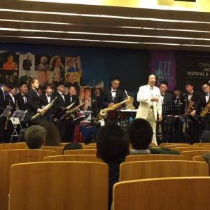 我爵士乐团参加上海国际爵士乐大赛