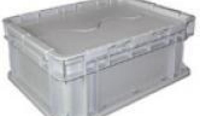 可堆式带盖物流箱系列