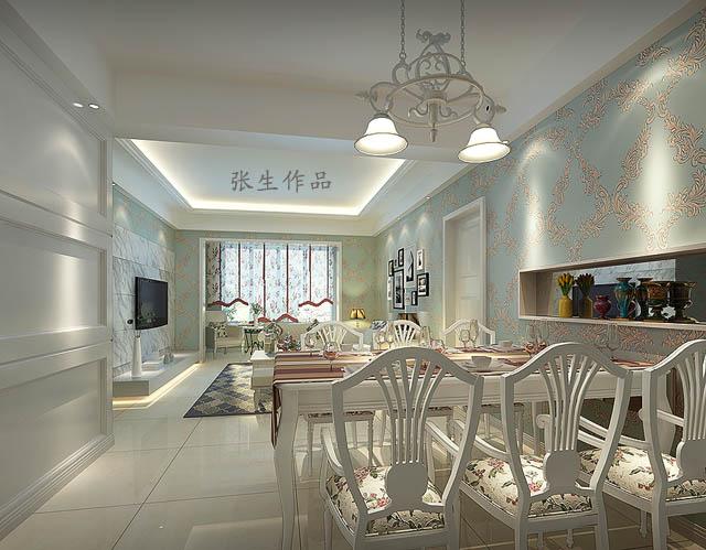 成都家装设计,香榭国际100平米房子装修报价 效果图