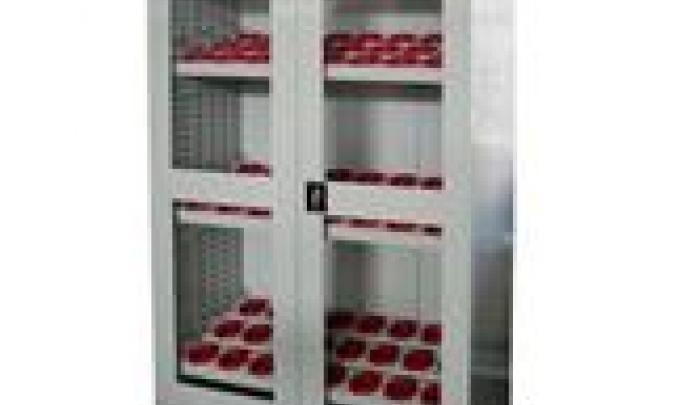 玻璃门刀具柜
