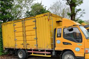 使用三吨车(车厢长3.50米、宽2.00米)搬场收费标准: