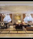 成都家装公司华润凤凰城135平新古典风格案例