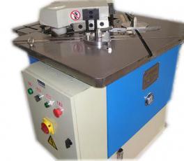 双工位液压剪角机