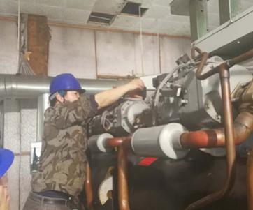 天津中央空调压缩机维修