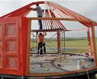 蒙古包建设