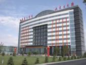 內蒙古日報社印務中心外墻清洗