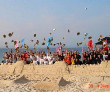 沙滩拓展—趣味团建