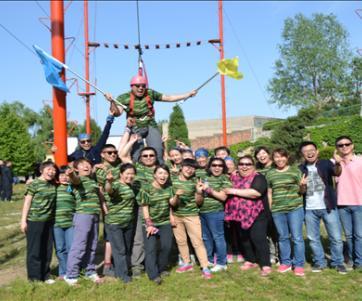 天津阳光践行户外运动有限公司培训结束
