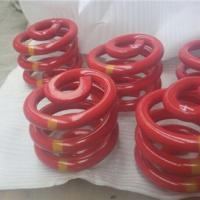 红色振动筛弹簧21.4x150.1x142.3x4.5