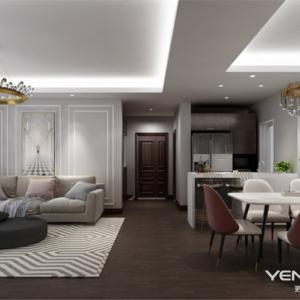 万科五龙山濮院140平米现代风格