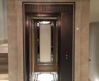 C字形楼梯中间位电梯设计解决方案(非观光)