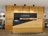 木板形象墙