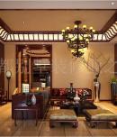 成都别墅装修设计中海峰墅600平独栋新中式风格实景案例