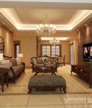 成都家装公司保利心语130平东南亚风格