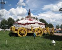 战车蒙古包