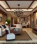 成都家装公司水晶城东南亚风格设计案例