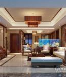 成都家装公司中海城南一号-248㎡-东南亚风格