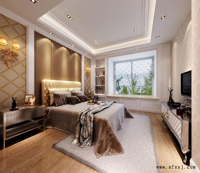 欧式风格卧室家装设计图
