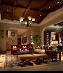 麓山国际·香怡林300平美式风格