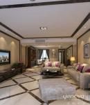 成都别墅装修公司业之峰城南一号168平在新中式风格