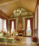 成都别墅装修设计公司之龙湖长桥郡380平米美式风格