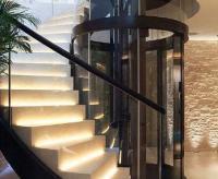 室内旋转楼梯电梯设计解决方案(异形电梯)
