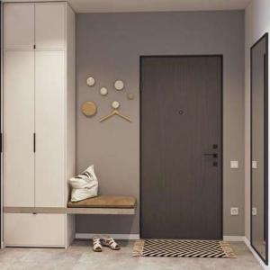 67平小户型,巧妙利用空间定制柜子,超多收纳空间